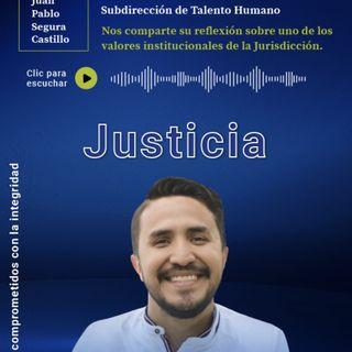 8. JUSTICIA | Juan Pablo Segura, profesional de la Subdirección de Talento Humano de la JEP | EPISODIO 8