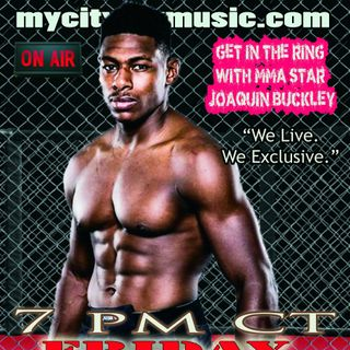 """The TAKEOVER continues with Bellator MMA fighter Joaquin """"youngbuck"""" Buckley"""