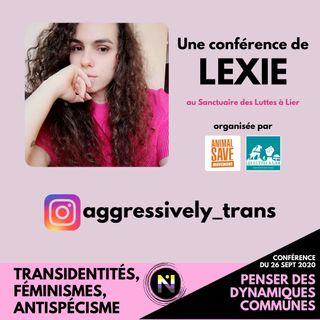 Conference Transidentite et antispecisme
