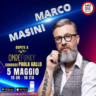Marco Masini: il 9 maggio il concerto in Live streaming