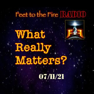 F2F Radio: What Really Matters During These Times?