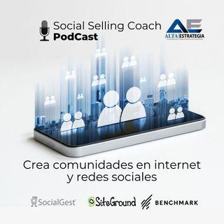 Crea comunidades en internet y redes sociales