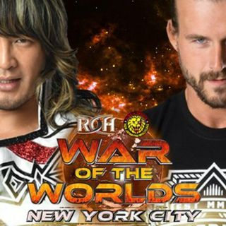 Wrestling 2 the MAX EP 246 Pt 1:  WWE Injury Bug, ROH & NJPW War of the Worlds 2017 Preview, Kairi Hojo Official