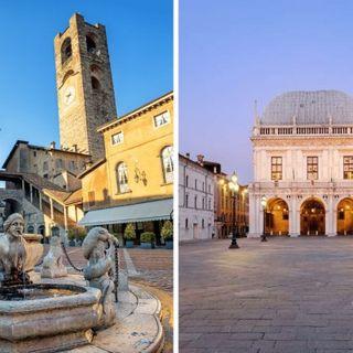 Bergamo e Brescia capitali della cultura nel 2023 dopo l'emergenza coronavirus