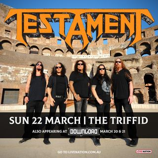 Return of the Titans with TESTAMENT