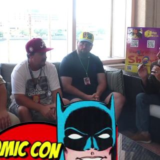 Comics, Colors & Contrast with Artists Steve Lydic & Jeff Edwards on the Hangin With Web Show