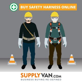 Buy Safety Harness Online - Supplyvan