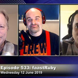 FLOSS Weekly 533: faastRuby