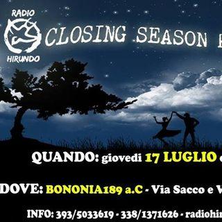 Hirundo Closing Radio Season Party 2014