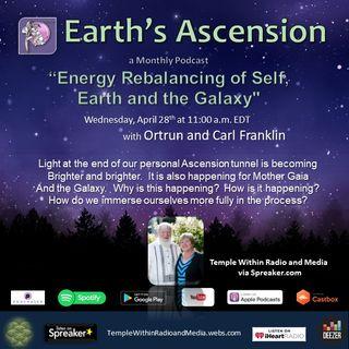 Energy Rebalancing of Self, Earth and the Galaxy