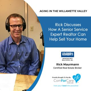 10/10/17: Rick Maurmann with Coldwell Banker Mountain West Real Estate, Inc. discusses how a Senior Service Expert realtor can help sell you
