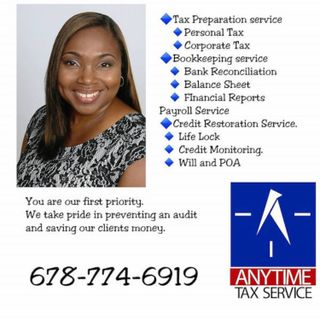 Michelle Tulloch talks Anytime Tax Services Inc