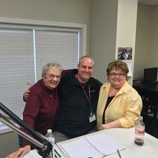 Carol, Susan, and Matt Shirley