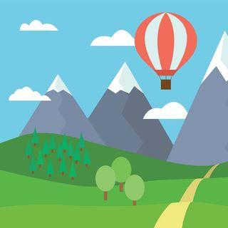 Geo i luftballonen