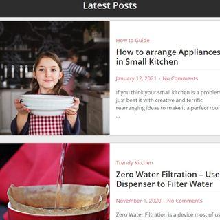 Smart ways to Organize small Kitchens - aTrendyKitchen
