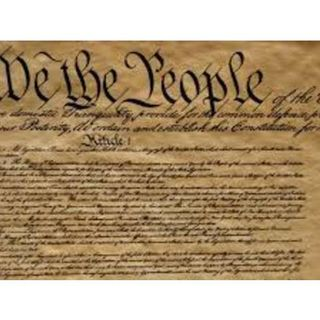 As For The Constitution