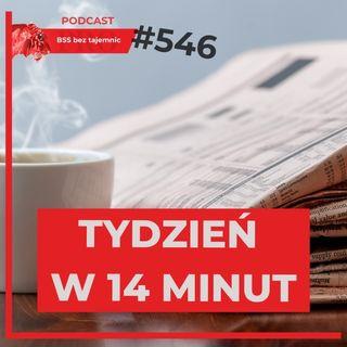 #546 Zapowiedzi, Newsy i podcasty, czyli EPT w podcaście BSS bez tajemnic