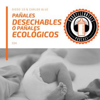 E004 - ¿Pañales desechables o pañales ecológicos?