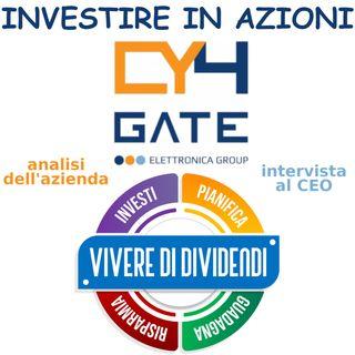 INVESTIRE IN AZIONI CY4GATE   analisi dell'azienda   intervista al CEO ed al CFO   cyber security