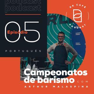 Campeonatos de barismo | Ep. 05 português