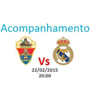Espanha - Elche vs Real Madrid