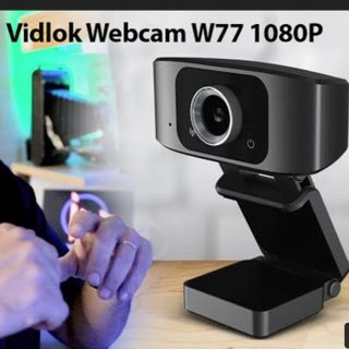 """EPA!! que bueno para el precio  """"Vidlok Webcam W77 1080P"""""""