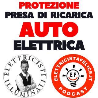 155 Quale interruttore usare per proteggere la presa di ricarica del veicolo elettrico?
