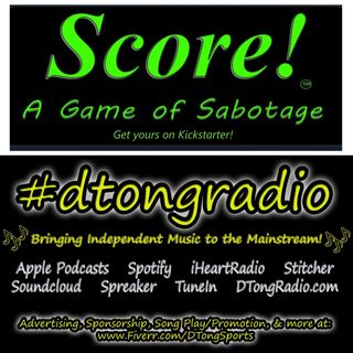 #NewMusicFriday on #dtongradio - Powered by Score! A Game of Sabotage