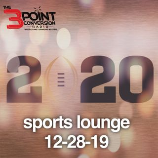 The 3 Point Conversion Sports Lounge- College Football Playoffs, Will The Saints Sign AB, Are The Lakers In Trouble