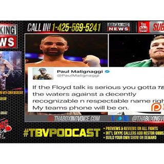 Floyd Mayweather Jr. vs. Conor McGregor: Malignaggi Sparring Mcgregor Tomorrow?