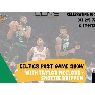 POSTGAME: Celtics @ Knicks | Dec. 1 | Kemba Walker | RJ Barrett