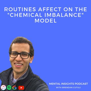 Routines Affect on Chemical Imbalance Model