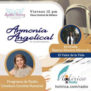 Armonía Angelical - Cynthia Ramirez- El valor de la vida