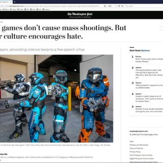 The Real Link Between Video Games and Mass Shootings | TWiT Bits