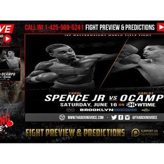 🔴Errol Spence vs Carlos Ocampo VENUE OFFICIAL👍👎WANTS Garcia or Porter NEXT⁉️