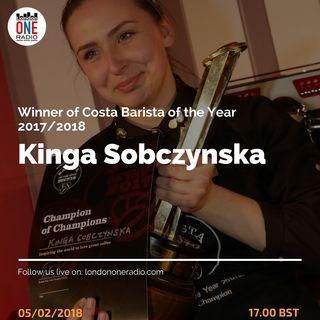 Kinga Sobczynska, 21 anni, vince il Costa Award e diventa miglior barista del mondo. A seguire Gianni Cianci con Go Music