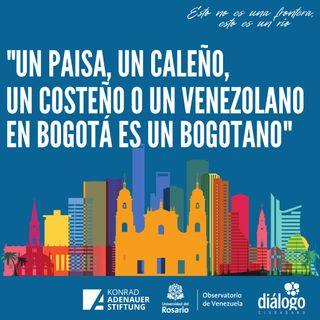 Un venezolano en Bogotá es un bogotano