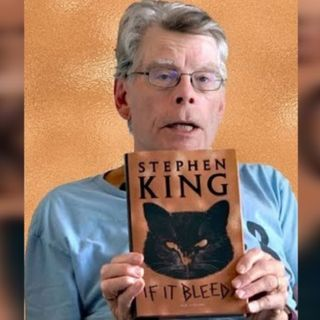"""Jim Jax & Florence Carmela hosts of """"The Forum""""; celebrity review Stephen King's Book """"If It Bleeds"""""""