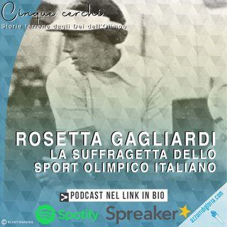 Rosetta Gagliardi - La suffragetta dello sport olimpico italiano