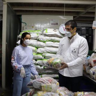 Empleados de la Cámara de Comercio de Cartagena donan 170 mercados en tiempo de Covid-19