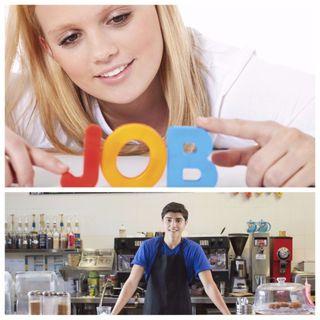 Teenagers working?