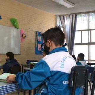 Secretaría de Salud informó que hay de 7 a 10 casos sospechosos por cada alumno confirmado con covid-19