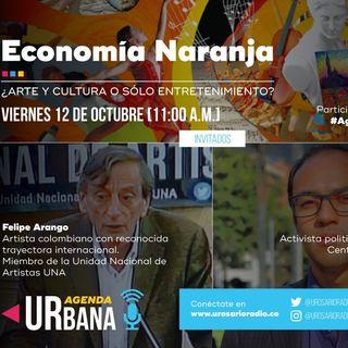 Economía naranja: arte y cultura, o solo Entretenimiento