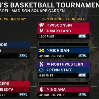 Go B1G or Go Home:Big Ten Tournament Preview