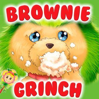 90. Brownie Grinch. Cuento infantil navideño de hada de fresa donde el perrito Brownie se convierte en Grinch