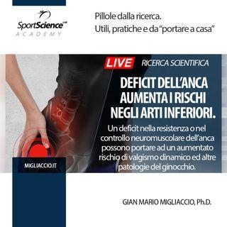 L'Allenamento neuromuscolare sull'anca previene il valgo dinamico
