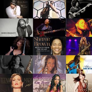 "The Ladies & ""Their Instruments of Music""♩♪♫♬(Genuine Music)"