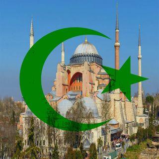 La basilica di Santa Sofia ritorna in mano all'islam, scacco matto per Erdogan!