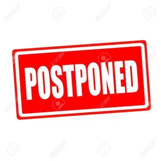 Postponed until Monday (7/11) 8PM