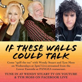 Wendy Stuart and Tym Moss Interview Rock Star Rocky Kramer